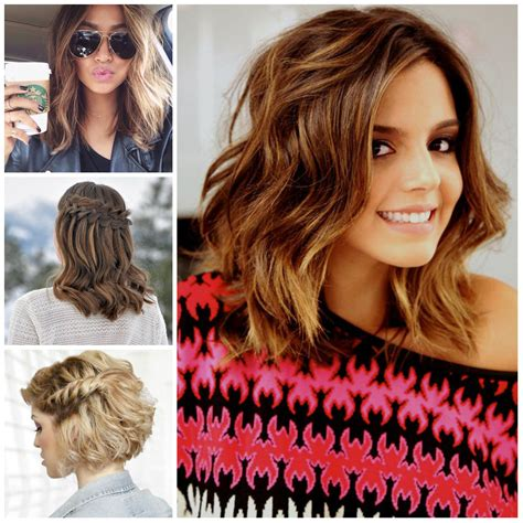 Hairstyles For Medium Length Hair by Curly Hairstyles For Medium Length Hair 2017 Haircuts
