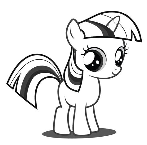 baby pony coloring page baby twilight sparkle coloring page my little pony