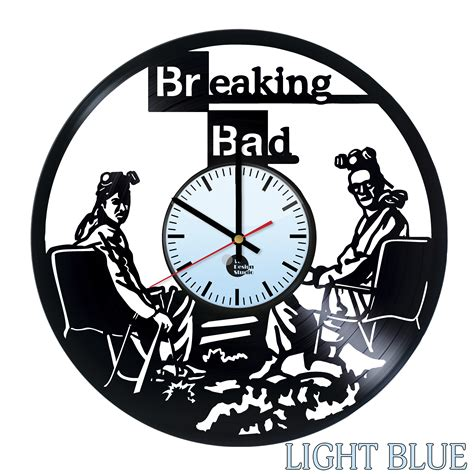 Handmade Clock - breaking bad handmade vinyl record wall clock fan gift