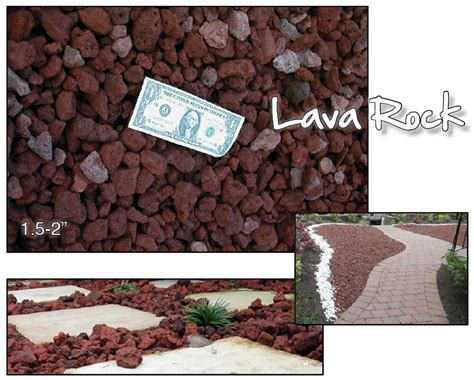 Brentwood Decorative Rock by Lava Rock Brentwood Material