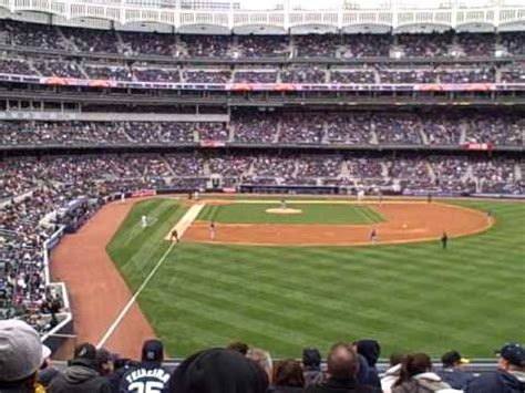 section 206 yankee stadium section 206 of the new yankee stadium youtube