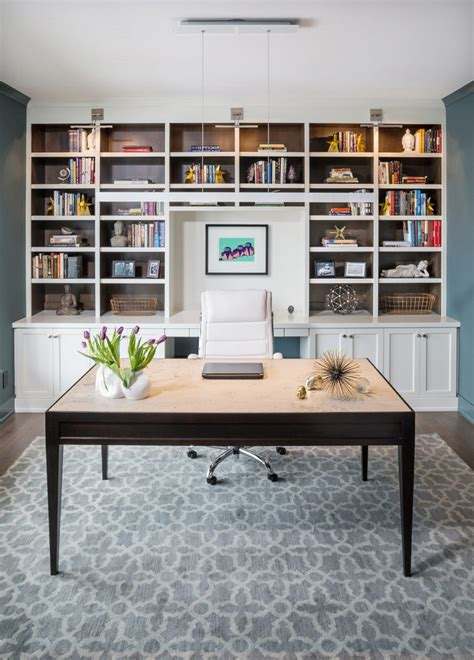 wall desk units home office transitional with custom unit