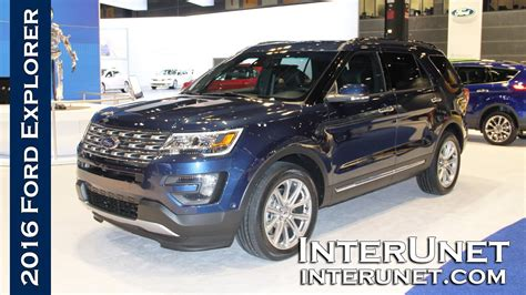 2016 Ford Explorer   new 7 passenger SUV   YouTube