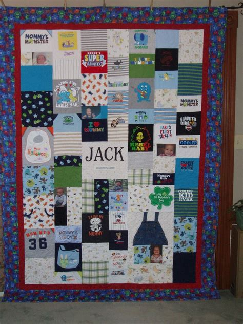 Patchwork Quilt Made From Baby Clothes - payment for patchwork style quilt made from baby