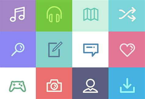 design icon pack 50 free flat and gorgeous icon sets for the modern designer