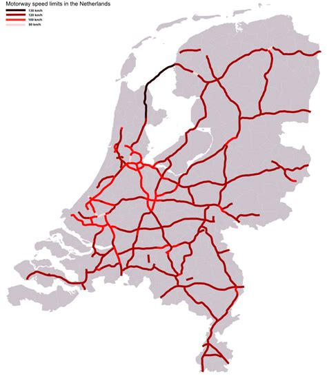 netherlands motorway map nl the netherlands road infrastructure autosnelwegen