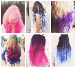 dyed hairstyles ideas and dyed tips
