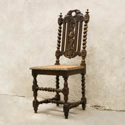 Antique chair louis xiii style glossary depot