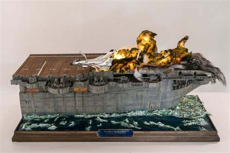 wallpaper scale models aircraft models ships figures dioramas this is an amazing recreation of an actual event using a plastic model kit plastic models