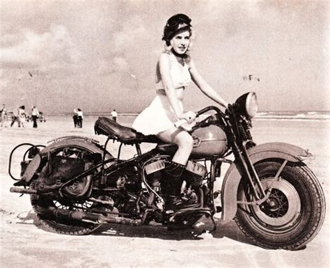 Alte Motorrad Bilder by Beach Babes And Vintage Motorcycles Page 4 Harley