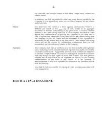 Offer Letter Usa Usa Contract Offer Letter To Independent Sales Forms And Business Templates