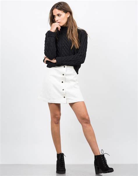 best 25 white denim skirt ideas on summer