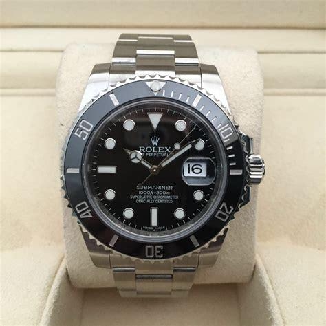 Jam Tangan Rolex Submariner 116610ln Ceramic Date Black jual beli tukar tambah service jam tangan mewah