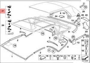 genuine bmw 3 series e46 convertible roof top repair kit oem 54317070381 ebay