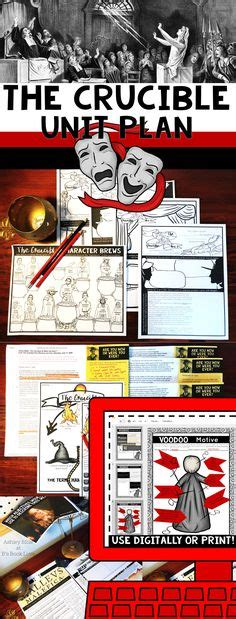 themes within the crucible the crucible character chart crucible pinterest