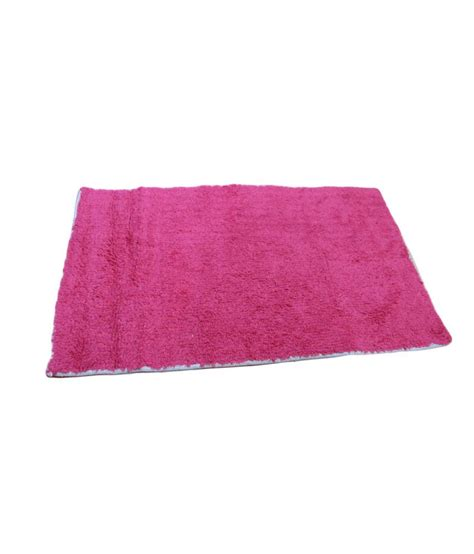 vsi pink cotton floor mat buy vsi pink cotton floor mat