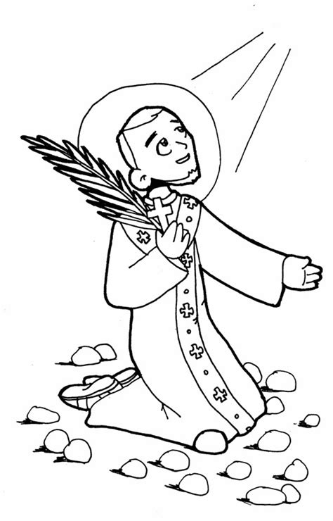 coloring pages bible stephen st stephen coloring page coloring pages