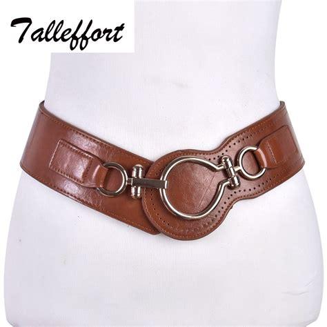 2016 belt leather wide elastic belts for dress