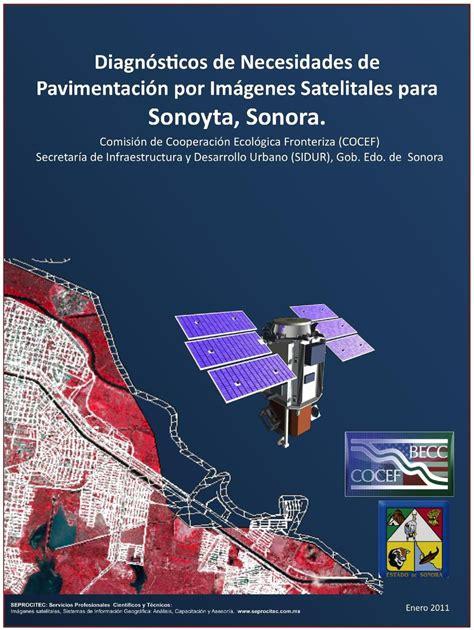 imagenes satelitales pdf diagn 243 sticos de necesidades de pavimentaci 243 n por im 225 genes