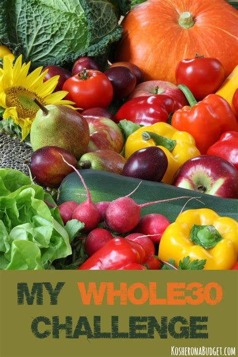 30 day whole food cooker challenge 101 irresistible whole food cooker recipes that will help you lose weight prevent disease and make you feel better than before books my whole30 challenge