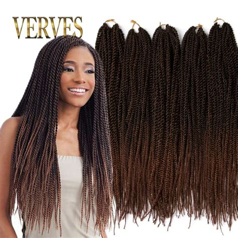 best synthetic hair for senegalese twists ombre crochet braid hair 20inch 70grams pcs small