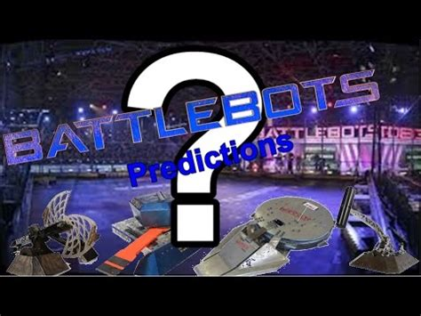 battlebots season 2 predictions #1 ft. icewave vs