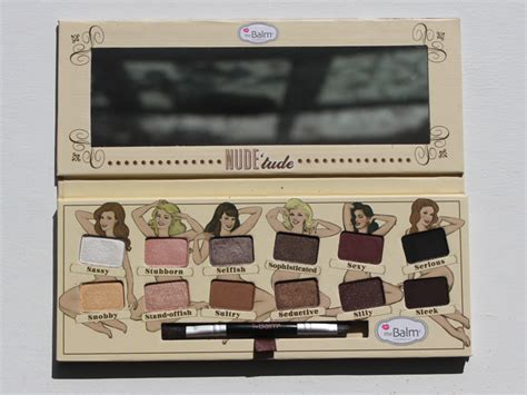 The Balm Eyeshadow Palette Tude 3 eyeshadow looks from the balm nude tude palette