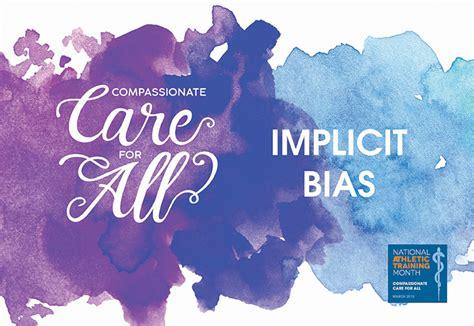 understanding implicit bias  health care nata