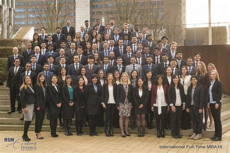 Rotterdam Mba Time by New Mba Class Starts Studies With Personal Leadership