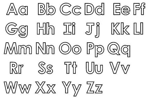 small printable letters free 8 best images of big and small alphabet letters printable