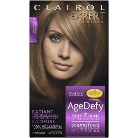 buy clairol age defy expert collection hair color 7