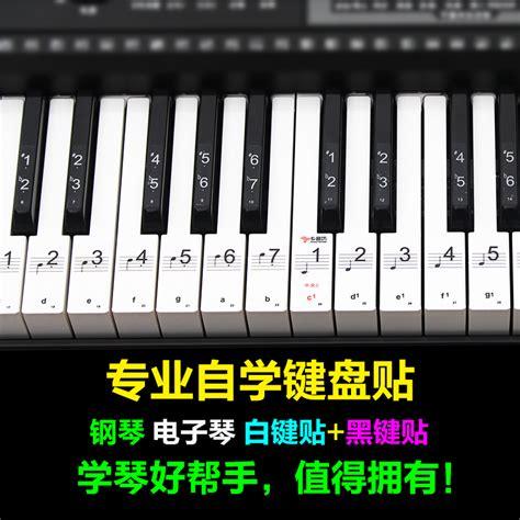 Yamaha Piano Sticker by 88 Key 61 Key 54 Key Transparent Piano Keyboard Sticker