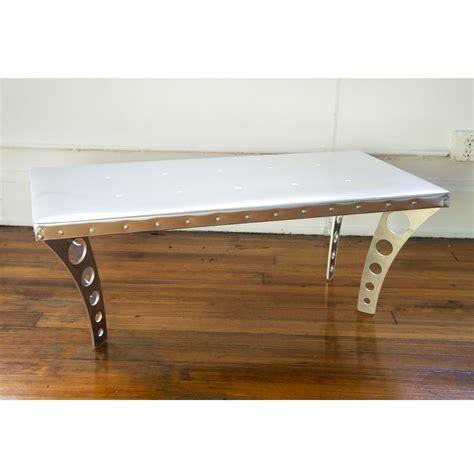 Aluminum Coffee Tables Jetset Coffee Table Aluminum Ramona Metal Touch Of