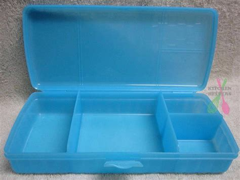 Snack Keeper Tupperware tupperware sandwich keeper plus has 4 compartments new