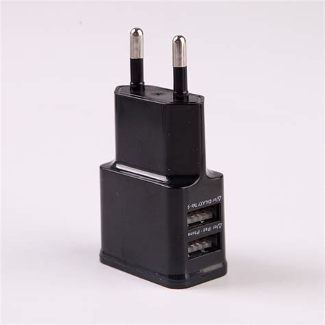 2 1a 1a 5v charger adapter us eu uk travel wall car