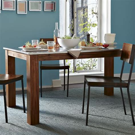 West Elm Rustic Dining Table Rustic Kitchen Rectangular Dining Table West Elm