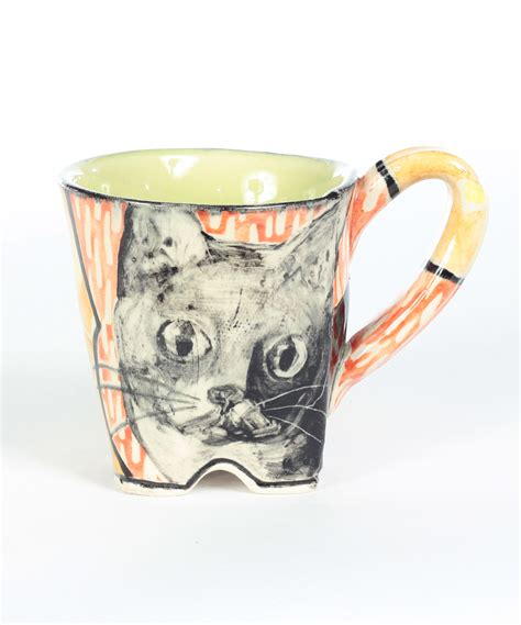 Cat Mug 1 artisan cat mug kurtz collection