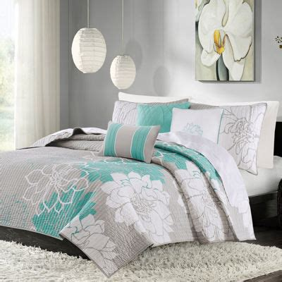 madison park brianna 6 piece coverlet set madison park brianna 6 pc coverlet set jcpenney