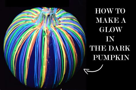 glow in the paint on pumpkins jaderbomb dye to diy