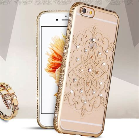 Luxury Soft Back Tpu Sulada Swarovski Iphone 7 3110 best rhinestone cases images on i phone