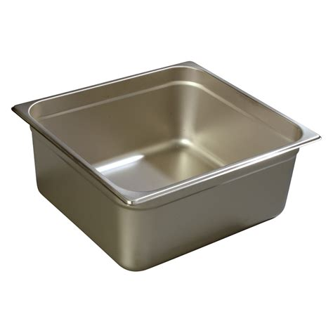Restaurant Kitchen Pans by Carlisle 608236 Two Third Size Steam Pan Stainless