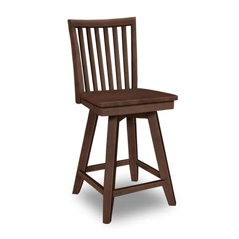 mission bar stools swivel mission swivel stool s 262swb