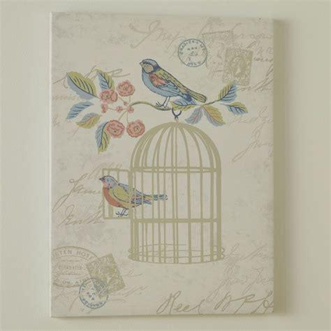 iliv shabby chic song bird wall art wall art
