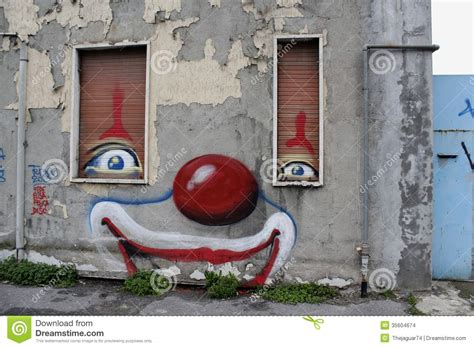 clown house clown house stock images image 35604674