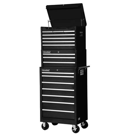 Husky 52 In 6 Drawer Tool Chest Htc5206 The Home Depot by Husky 52 In 18 Drawer Tool Chest And Rolling Tool Cabinet