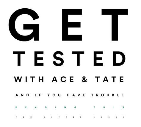 eyesight test eye test ace tate