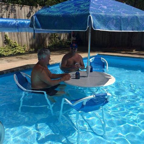table for inside swimming pool this is a genius idea the meta picture