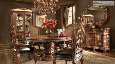 aico dining room furniture villa valencia round dining room collection from aico