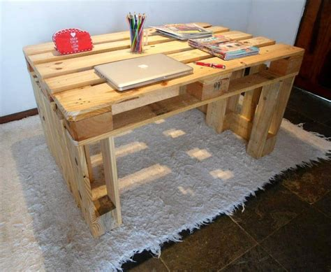 desk made from pallets 130 inspired wood pallet projects and ideas page 2 of