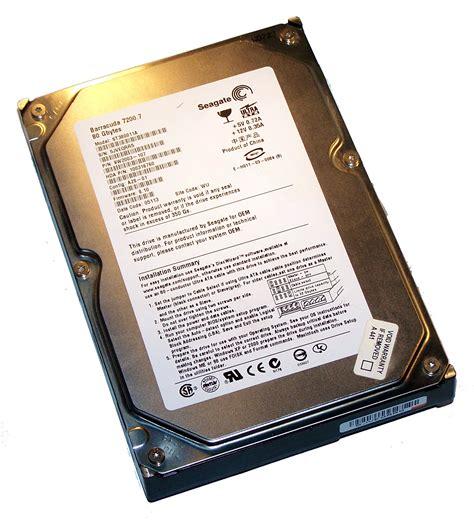 Harddisk Ata Seagate 80gb seagate st380011a 80gb 7 2k 3 5 quot ata disk drive fw 8 10 pn 9w2003 107 29023776 ebay